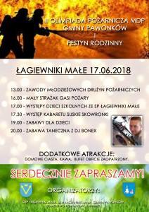 plakat Łagiwniki Małe